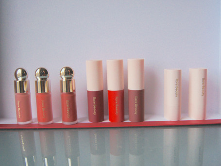 Rare Beauty Review + Swatches | Plus notes on smell, ingredients, and wear-time | Holiday Mini Sets