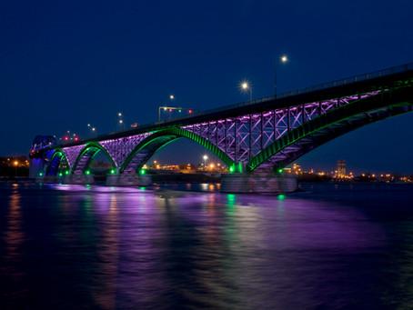 Peace Bridge Widening Canada-US Border