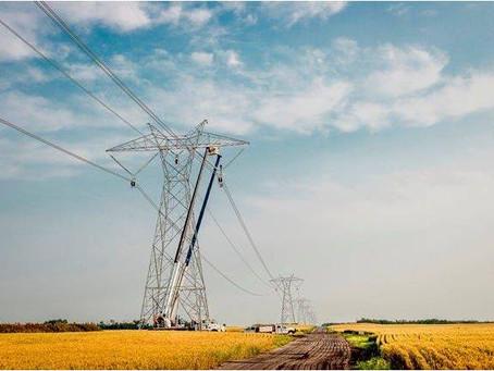 Transmission Line Pile Caps & Bases, Eastern Alberta