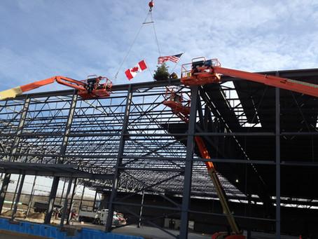 Boeing Plant Expansion, Winnipeg Manitoba