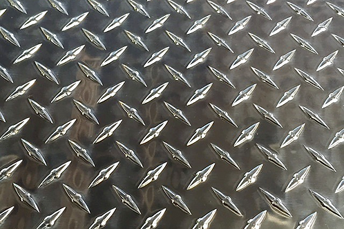 ".125"" x 4"" x 48"" - 5 Pack Aluminum Diamond Plate"