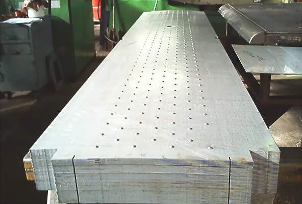 Punching Steel Panel to 18' Long