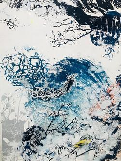 Blue Garden #6 60cm x 80cm