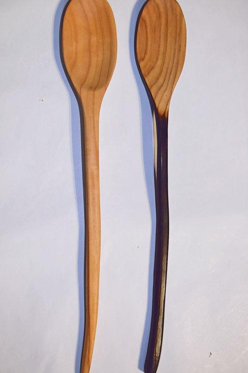 Cuillère en bois asymétrique