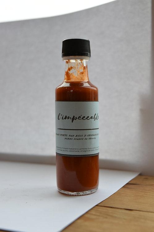 Sauce forte «L'impeccable» 100ml