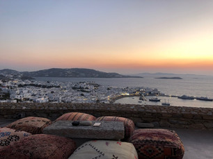 180º Sunset Bar, Mykonos town