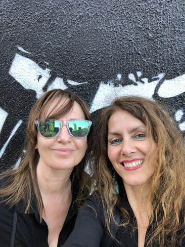 With Karen in Shorditch