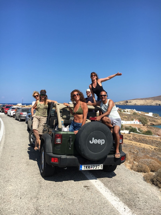 The Mykonos gang