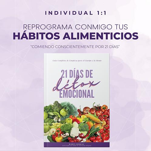 Programa Individual 1-1: 21 Días de Detox Emocional