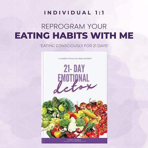 1-1 Program: 21-Days of Emotional Detox