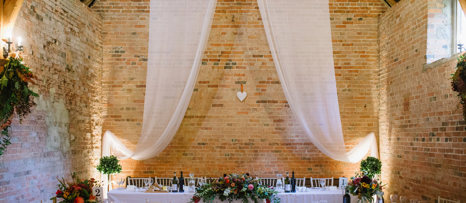 Micro Wedding Package at Dovecote Events