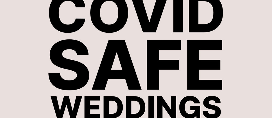 Covid Safe Weddings Website