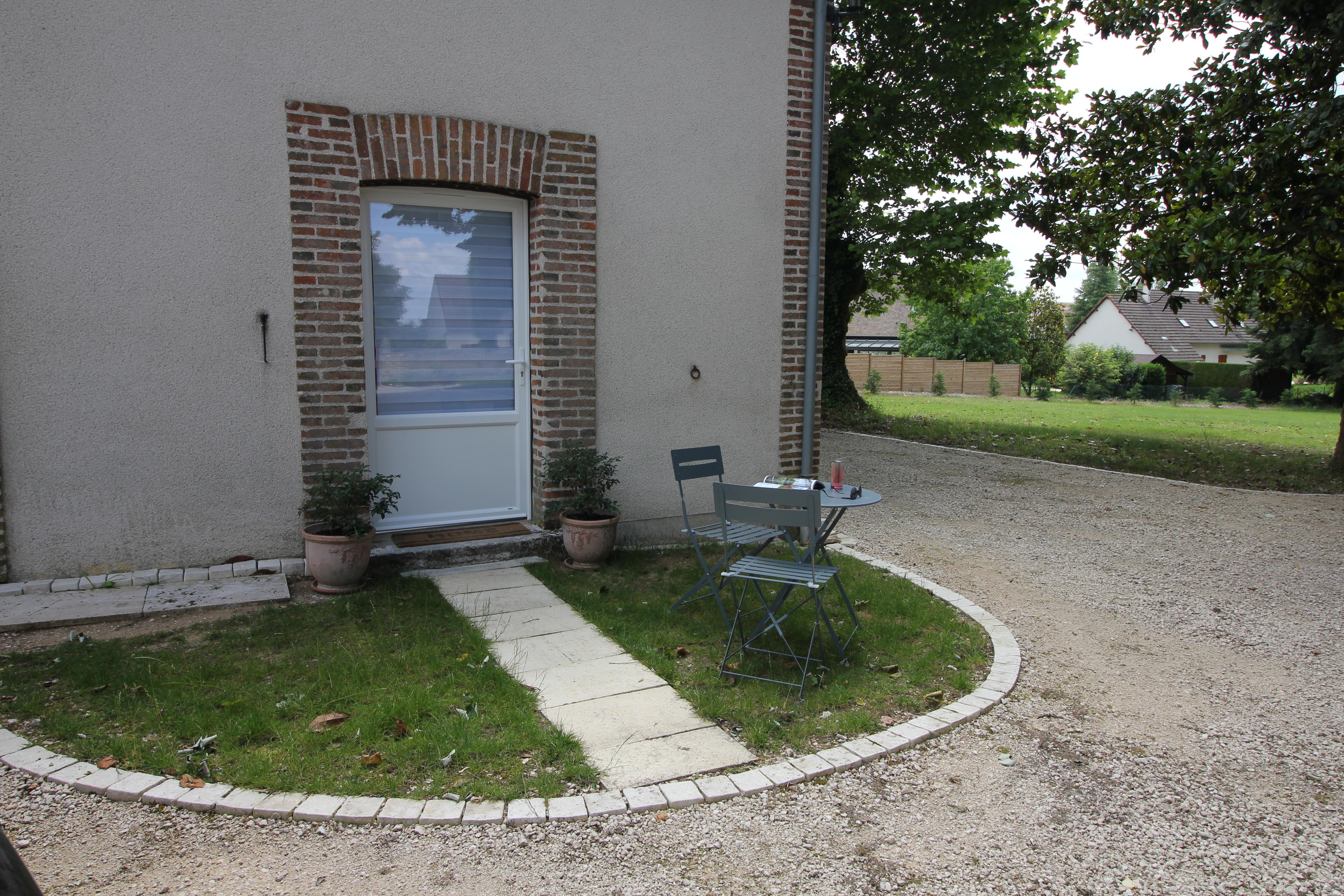 Porte d'entrée Magnolia