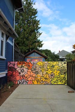 Lauren's fence