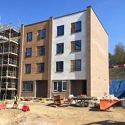 brickwork on site