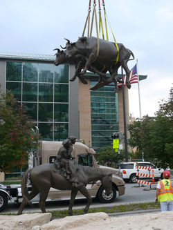 Phase II Installing the Oxen