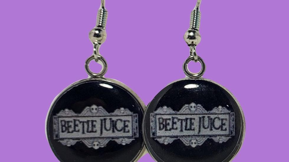 Beetlejuice Logo Photo Disk