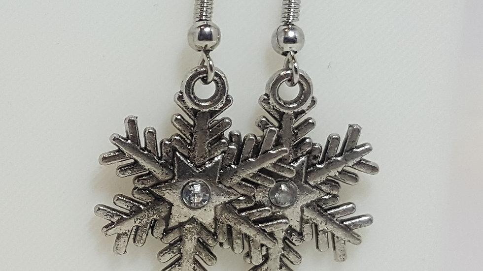 Christmas - Metallic Snowflakes