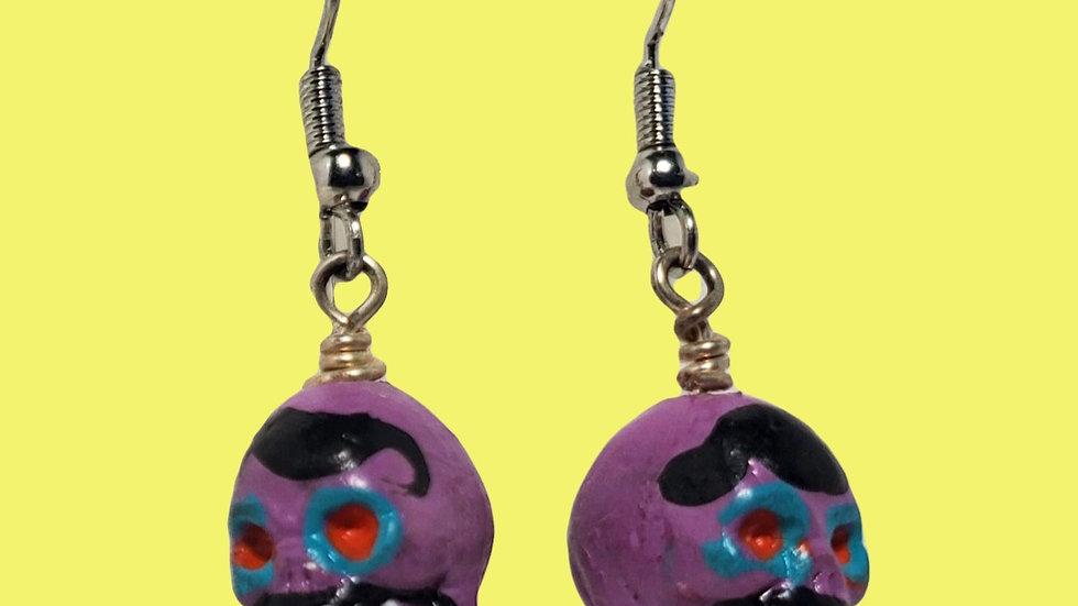 Teeny Tiny Skulls - Purple