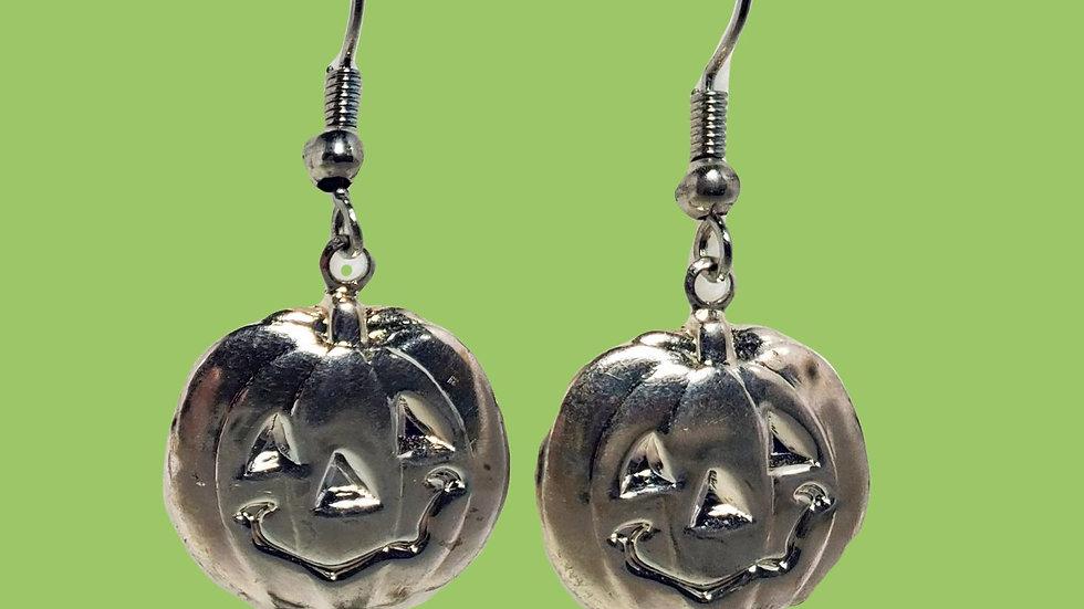Silver Jack O Lanterns