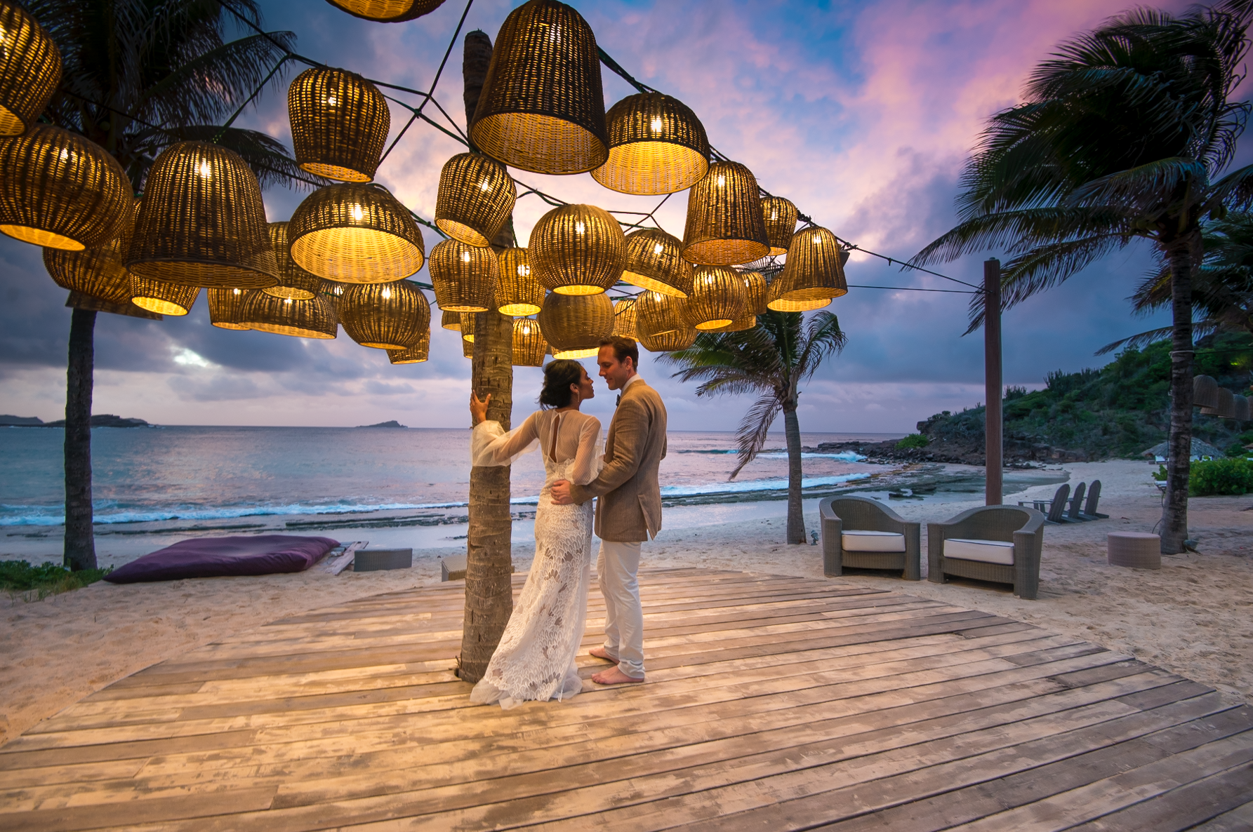 st barth wedding