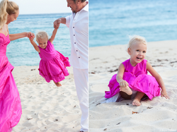 St Barth family pictures
