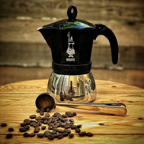 Moka induction Bialetti Black 1L (6 cups)