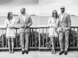 Engagement in St Barths Eden Rock
