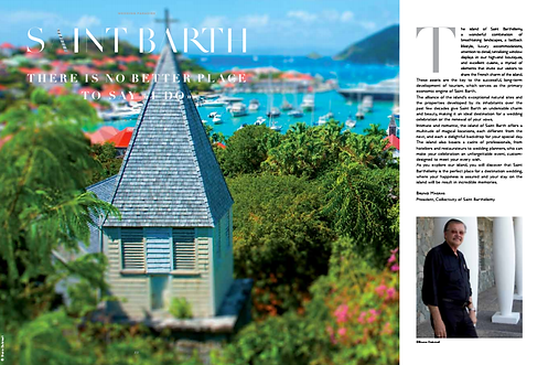 Weddings in St Barts Bruno Dubreuil selected by the international society of the best wedding photographers in the world