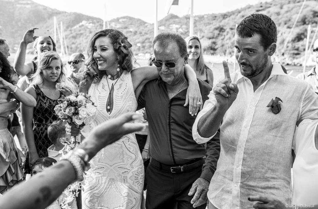 wedding in st Barth
