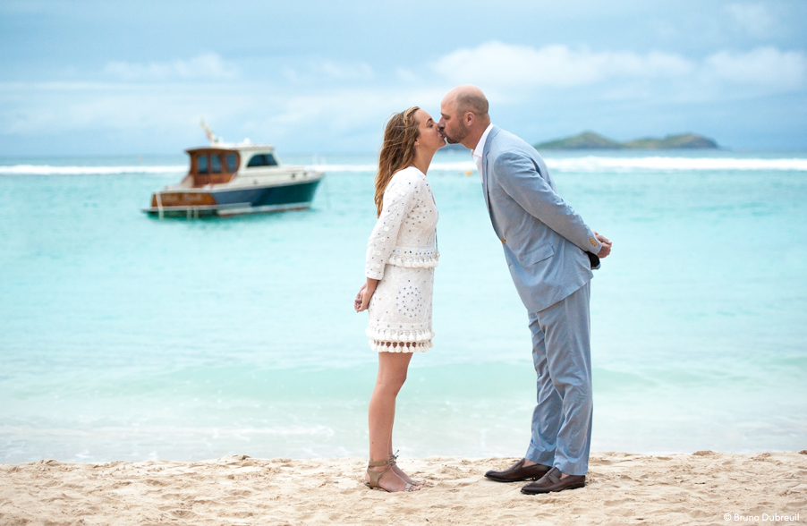 Engagement in St Barths Eden Rock
