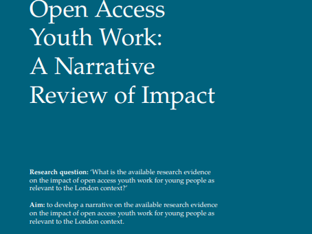 Open Access Youth Work: A Narrative Review of Impact