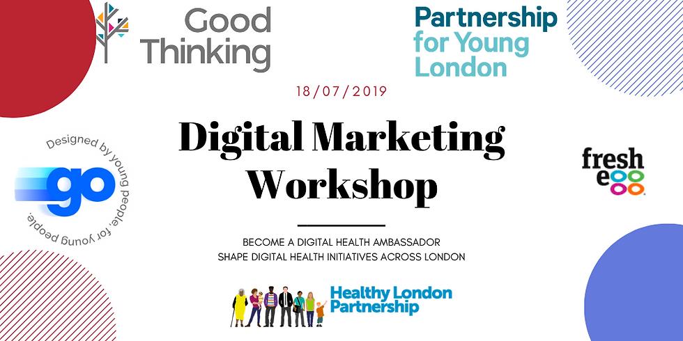 NHS Digital Health Ambassadors: Digital Marketing Workshop
