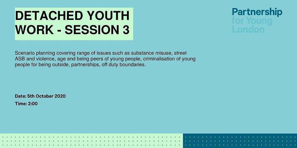 Detached Youth Work - Scenario Planning