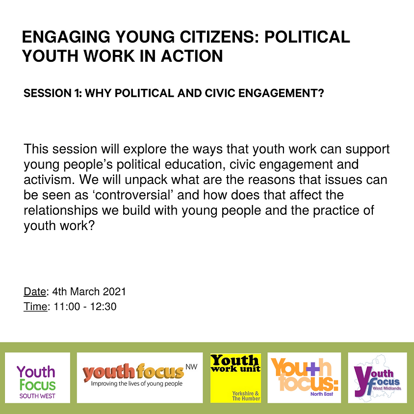 Session 1: Why political and civic engagement?