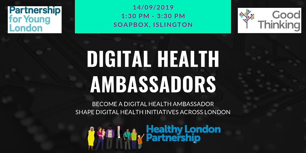 Digital Health Ambassadors: Good Thinking Redesign