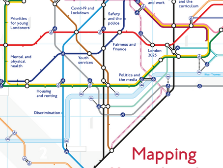 Mapping Young London: A View into Young Londoners After A Year in Lockdown