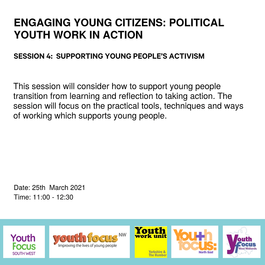 Session 4: Supporting young people's activism