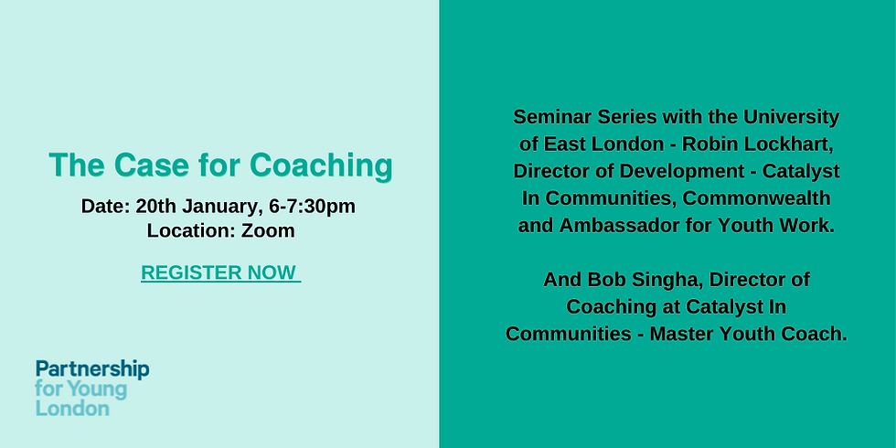 Seminar Series with the University of East London - The Case for Coaching