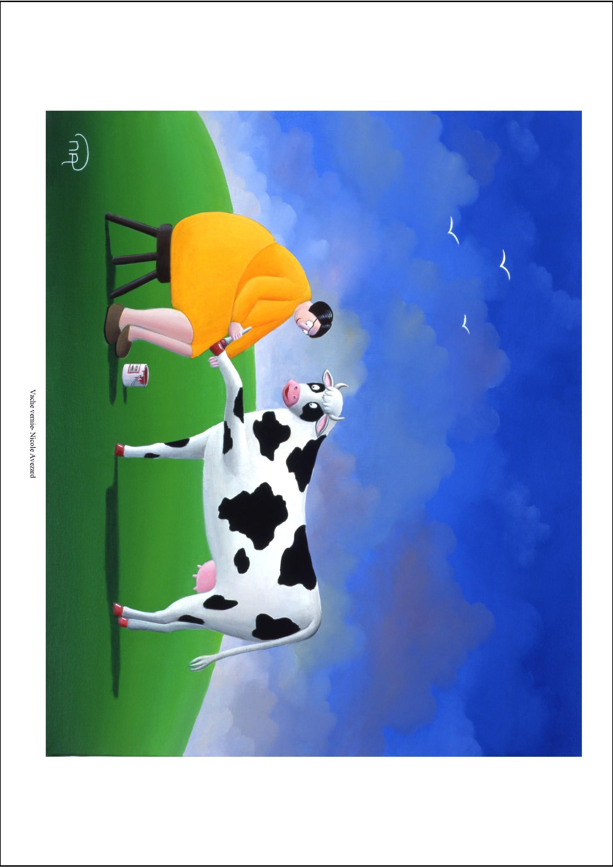 Vache vernie