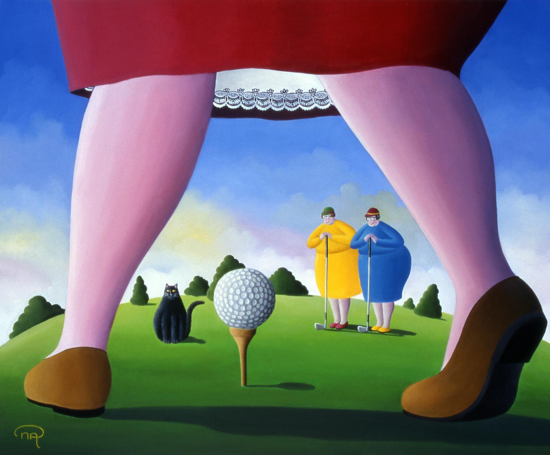 Les golfeuses