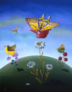 Les papillonnes