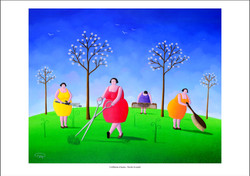 Coiffeuses d'herbe