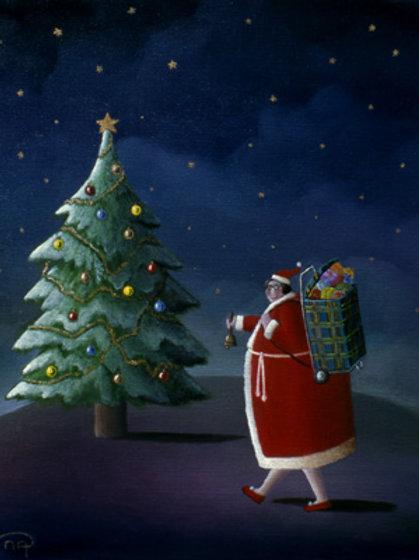 Carte postale format 10x15 (La père Noël)