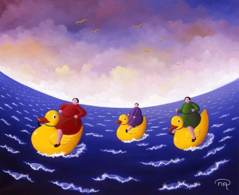Canards de bain
