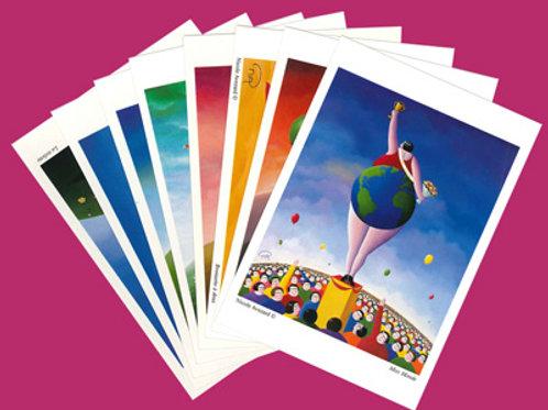 30 cartes postales - Frais de port inclus