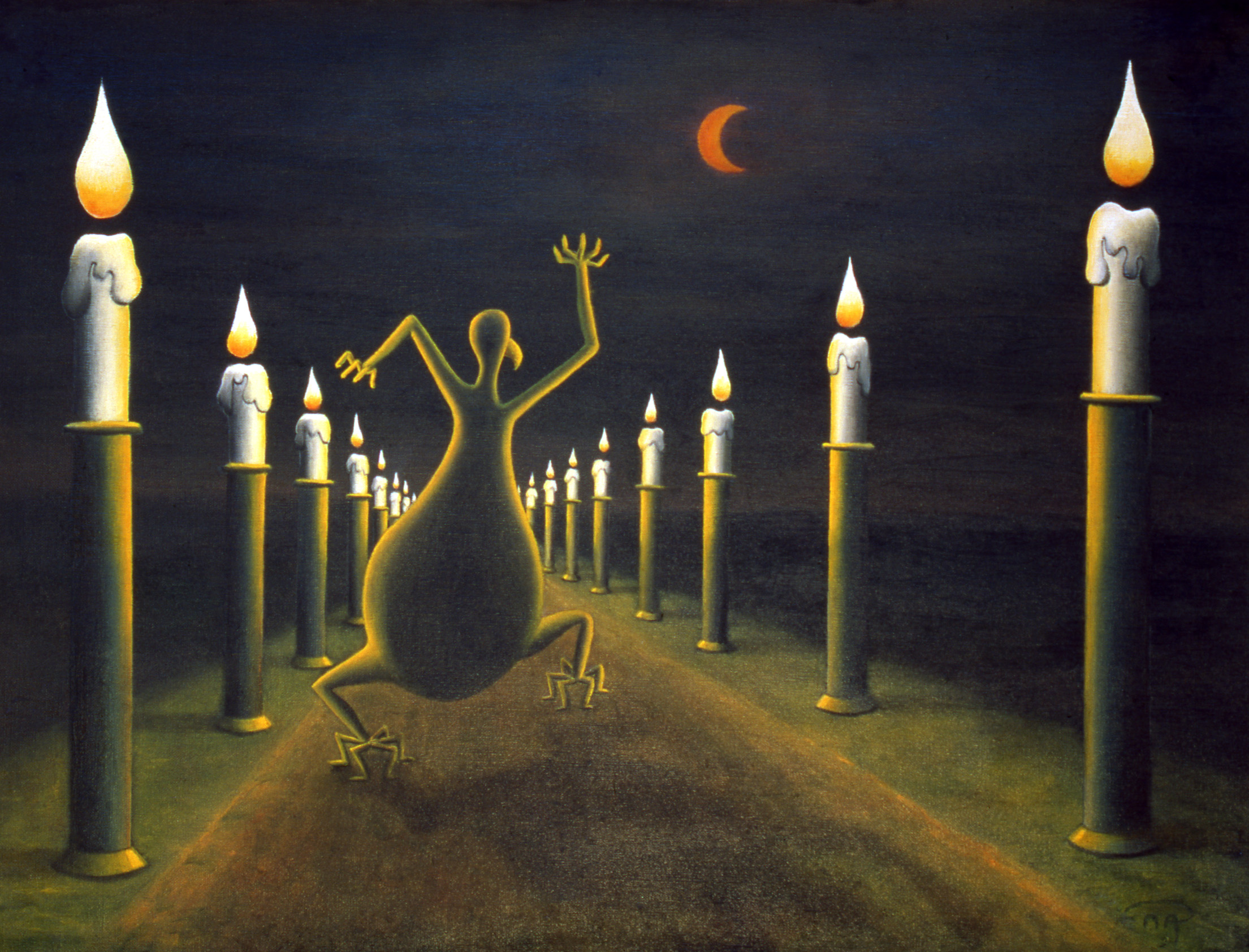 Le stress du glaumard de nuit
