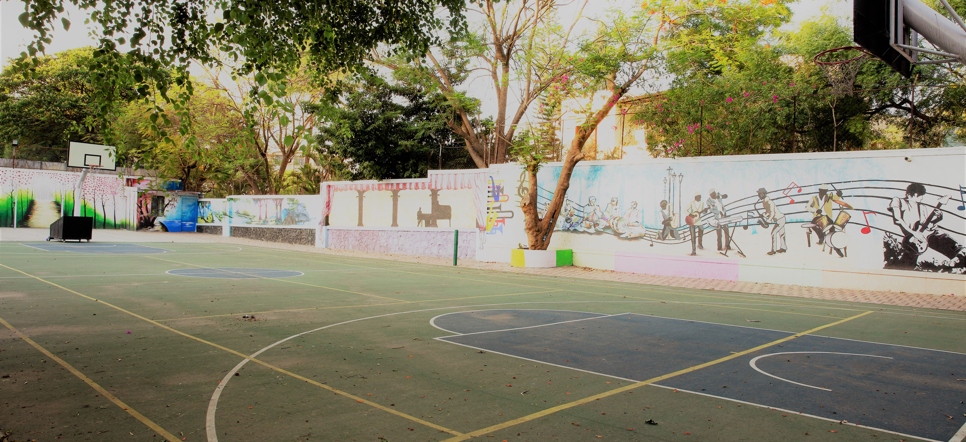 Basketball and Sports Ground