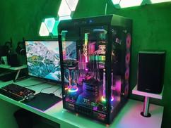 柜式水冷RGB主机XL-ATX配置全解析💧