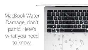MACBOOK或笔记本进水后紧急自救攻略 | 吹风机该如何使用?电脑插大米里有用吗?